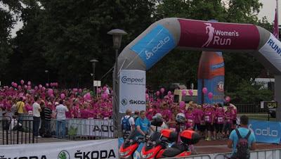 LCHF - Women's Run - der Start