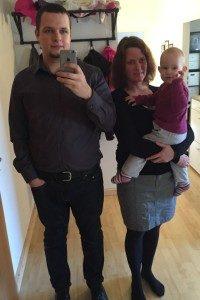 Stephans Erfolgsstory - Stephan mit Frau und Tochter