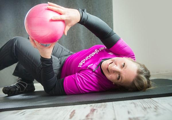 Erste Schritte mit LCHF - Foto von Annika Rask beim Sport