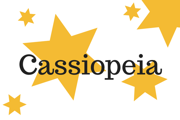 Cassiopeia als Wortbild - LCHF bei Typ-3-c-Diabetes