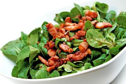 LCHF-Tellerspione KW 31 – 2016 - Feldsalat mit Bacon