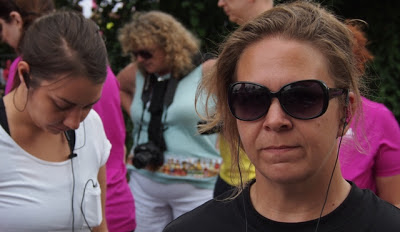 Annika vor dem Start beim Women`s Run
