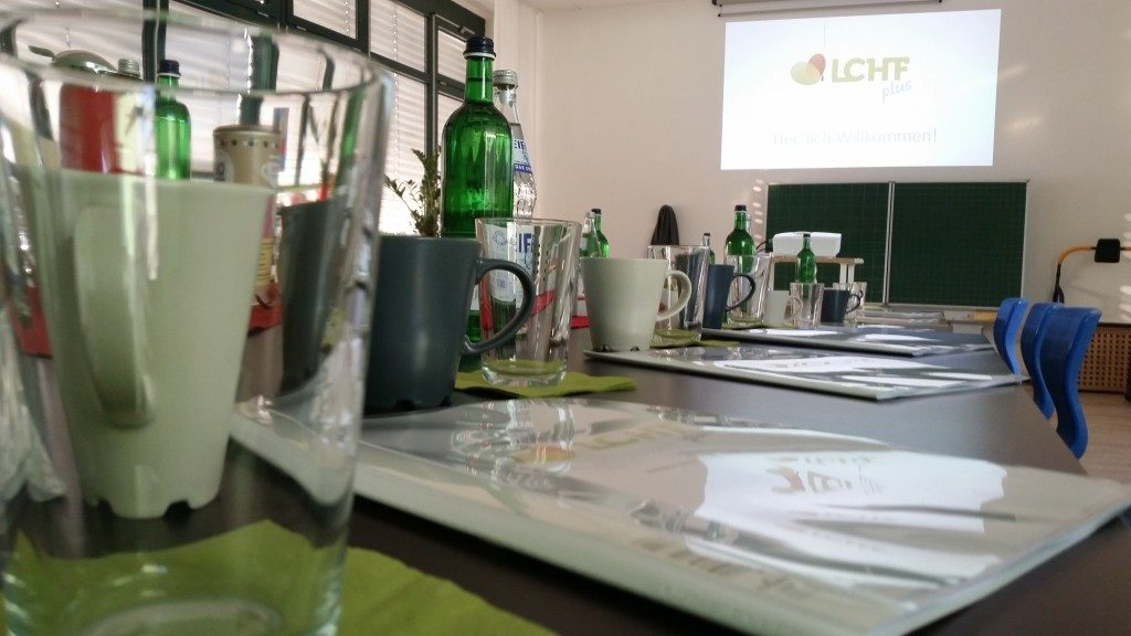 LCHF plus Seminar in München - Hier ein Foto von einem Seminar in meinen Räumen