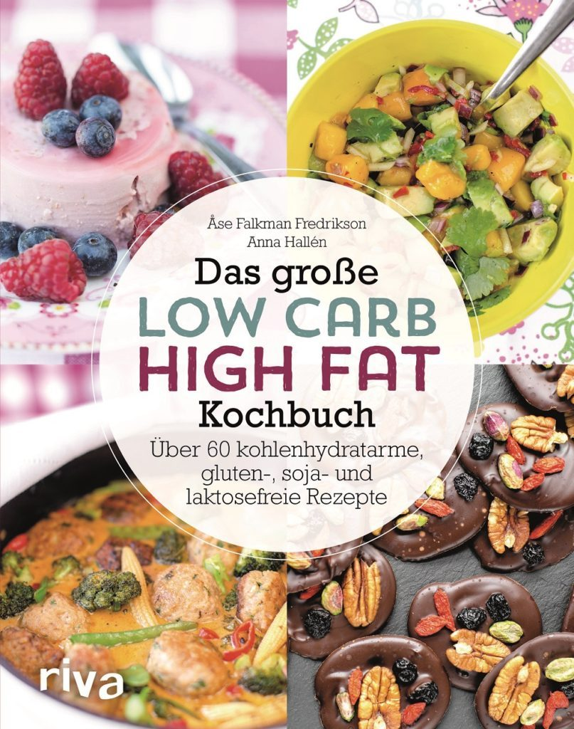 Cover von das große Low Carb High Fat Kochbuch