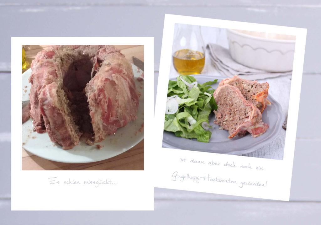 Ein Buch entsteht auf Umwegen - Fotos vom missglückten Hackbraten