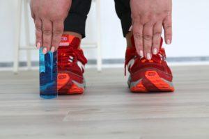 Selbsttest Beweglichkeit - Ablesen der Werte vom Maß