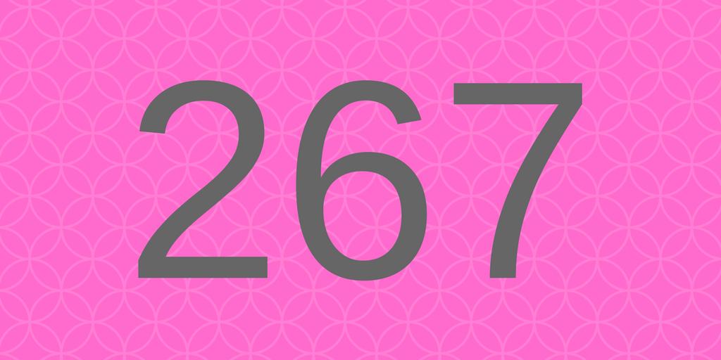 Süßes - Zahlbild 267