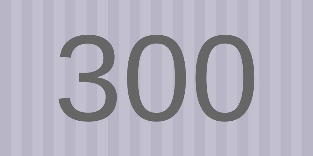 Zahlbild 300 - Süßes